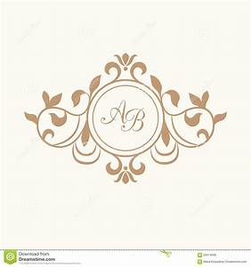 wedding monogram template wwwimgkidcom the image kid With wedding invitation monogram design free