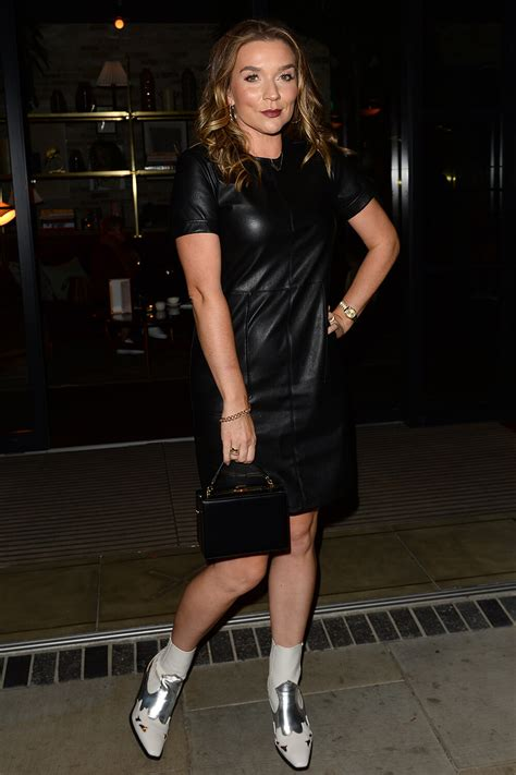 candice brown attends stacey solomon  primark event