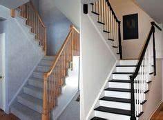 quelle couleur pour repeindre un escalier entrees With peindre les contremarches d un escalier en bois 5 escalier en bois moderne avec contremarches photo 710