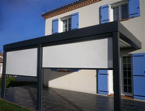 store vertical pour pergola pergola aluminium bioclimatique prenium toulouse installation de pergola en alu sur mesure 224