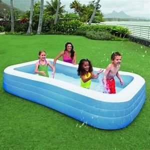 Jeux Gonflable Pour Piscine : intex piscine gonflable rectangulaire pour la famille 3 ~ Dailycaller-alerts.com Idées de Décoration