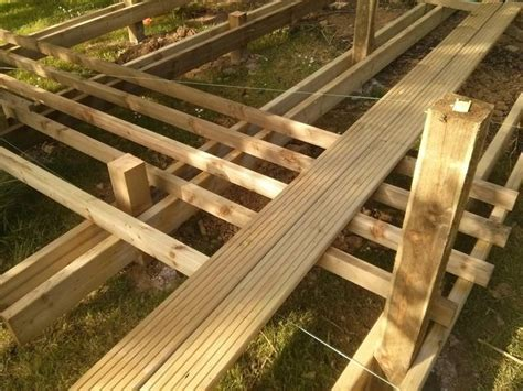 Joist Spacing For Decks by Decking Are These Joists Enough For The Joist