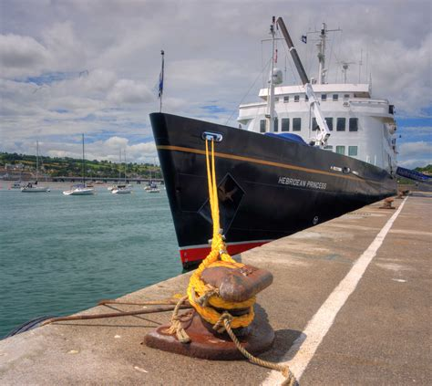 Ship Port by First Cruise Ship Docks At Port Of Teignmouth World