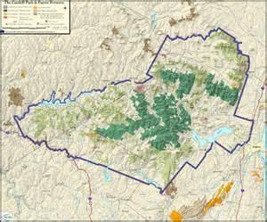 Catskill Mountains New York Map
