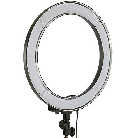 dimmable led ring light neewer 18 quot 48cm dimmable led smd ring light kit for video
