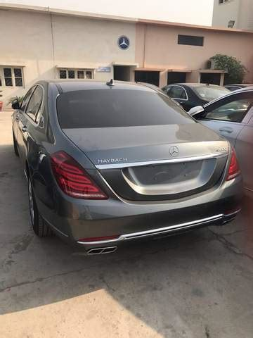 Mercedes s class in pakistan. Bomb Proof Mercedes Maybachs' on Their Way to PM House