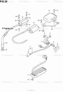 Suzuki Motorcycle 2005 Oem Parts Diagram For Electrical