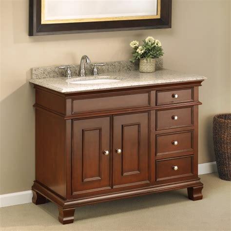 42 single sink bathroom vanity manhattan 42 quot single sink vanity mission furniture
