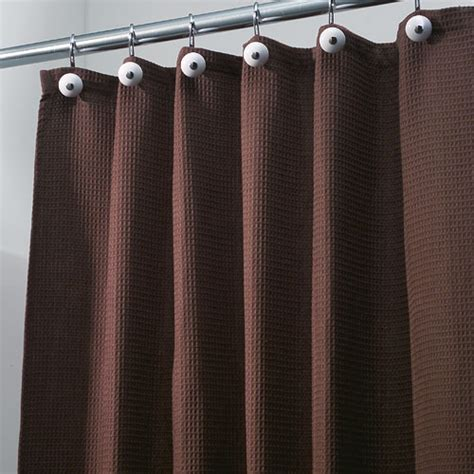 brown shower curtain york fabric shower curtain chocolate brown in shower