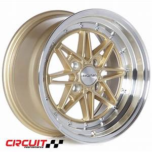 Cp24 15x8 Gloss Gold  Machined 4x100 Et25 Wheel
