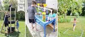 Jeux Exterieur Anniversaire : tutoriels 15 jeux pour le jardin pour les enfants fabriquer vous m me ~ Melissatoandfro.com Idées de Décoration