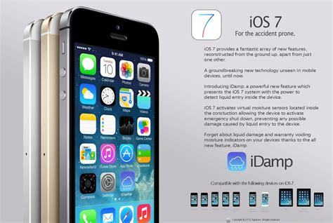 iphone ad users fooled by ios 7 ads claiming it made their