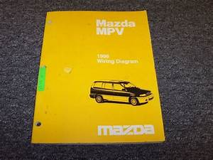 1996 Mazda Mpv Van Original Electrical Wiring Diagram