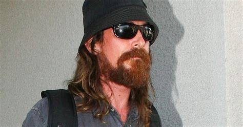Christian Bale Extremely Scruffy Unrecognizable
