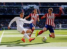 Real Madrid 01 Atletico Madrid Player Ratings