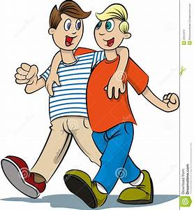 Walking Together Clipart - Clipart Suggest