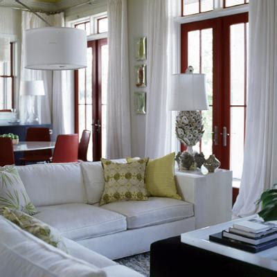 How To Decorate A Living Room With White Walls Interior