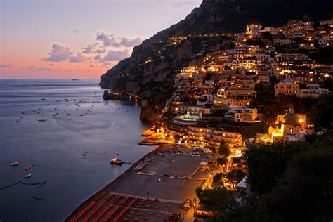 Positano In The Evening A Photo On Flickriver