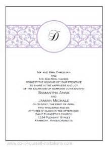 printable wedding invitations diy printable wedding invitations templates