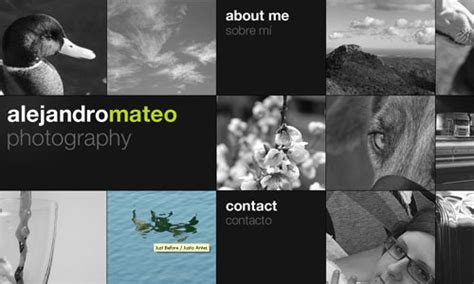 creative photographer portfolio websites web