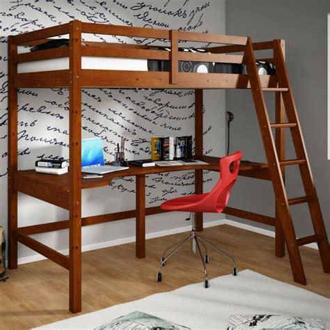 lit mezzanine adulte  amenagement de petits espaces
