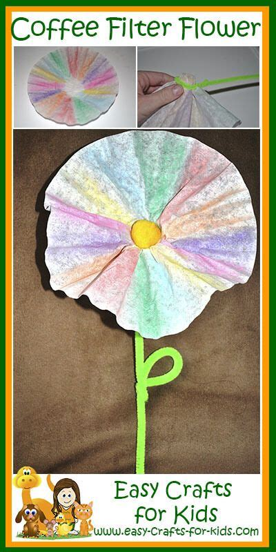 coffee filter flowers preschool 40 best images about crafts for on 984