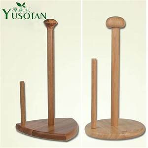 Natural Wooden Napkin Paper Holder Paper Towel Rack Tissue