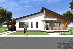 Bungalow house design 3D Model A27 Modern Bungalows by
