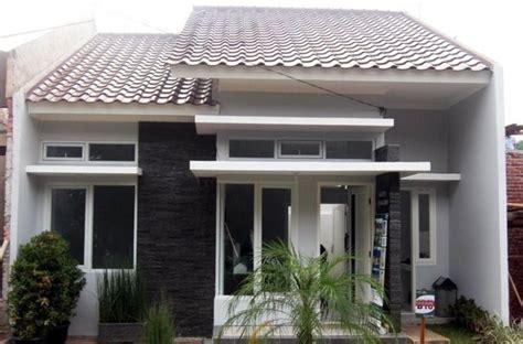desain rumah minimalis modern type  denah rumah