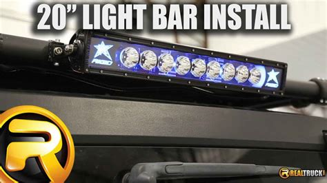 install rigid industries radiance   led