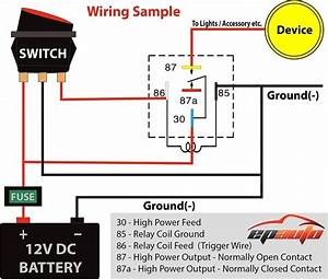 12 Volt Toggle Switch Wiring