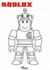 Roblox Coloring Characters Games Series Bubakids Game Cartoon Colouring Character Printable sketch template