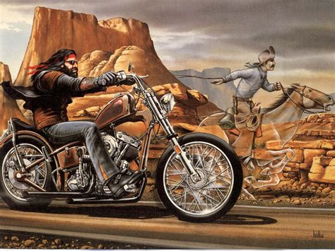 The Norman Rockwell Of Biker Art
