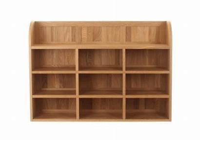 Oak Office Rack Wall Reversible Furniture Storage