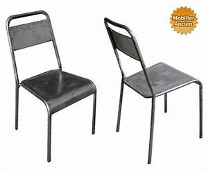 Chaise Métal Industriel : chaise design industriel ~ Teatrodelosmanantiales.com Idées de Décoration