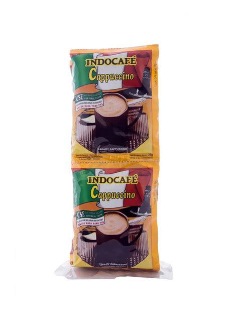 indocafe cappuccino pck xg klikindomaret