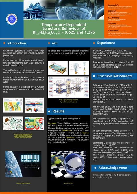 template poster ilmiah business brochure  colorful