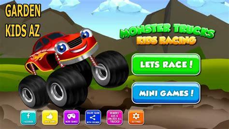 monster truck videos for children monster trucks kids racing car for children trucks kids