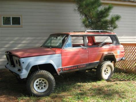 1977 jeep cherokee chief purchase used 1977 jeep cherokee chief sport utility 2