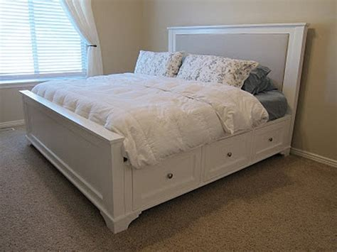 diy storage bed ideas home design garden