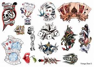 Vintage Tattoo Images & Designs