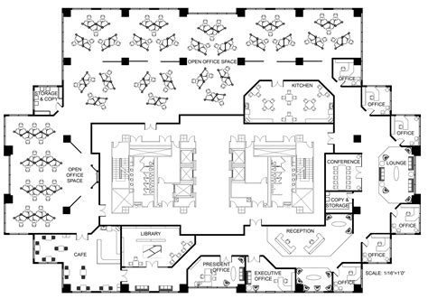 simple modern office floor plans placement open office office spaces and offices on