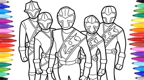 power rangers coloring coloring pages power ranger