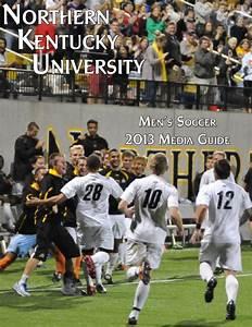 ISSUU - 2013 nku men s soccer media guide by Northern ...