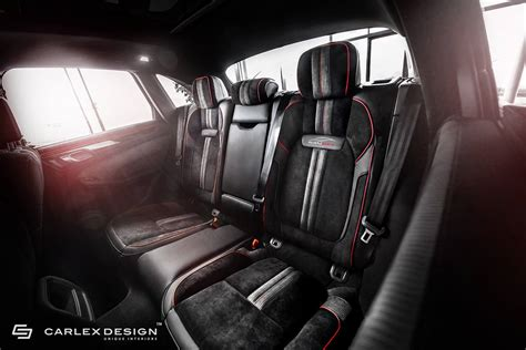 Interior : Porsche Macan Gets A Berserk Red And Black Interior