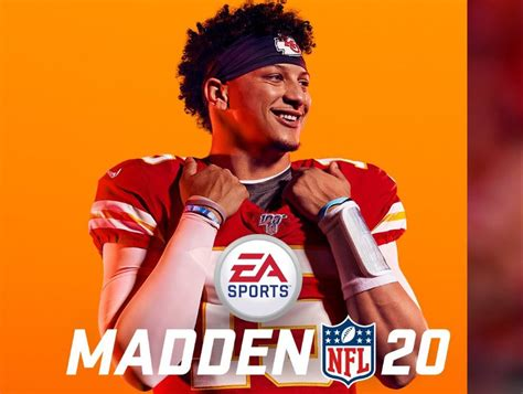 pat mahomes featured cover madden
