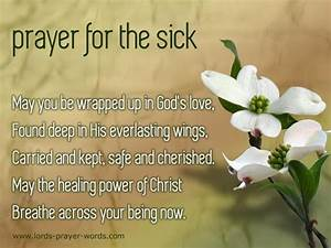 prayer for heal... Sick Room Quotes