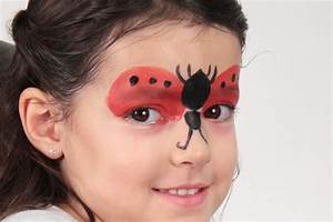 Modele Maquillage Carnaval Facile : tuto sp cial ladybug maquillage de coccinelle facile id es de f tes ~ Melissatoandfro.com Idées de Décoration