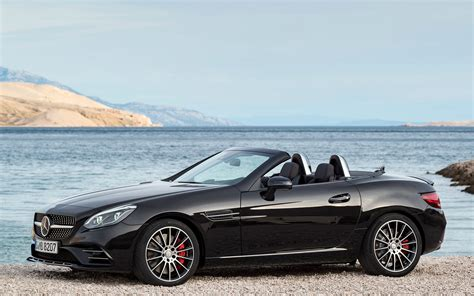 Mercedes Slc Class Backgrounds by Mercedes Amg Slc 43 2016 Wallpapers And Hd Images Car