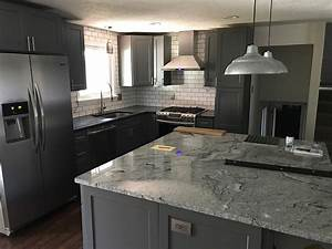 Buy Shaker Gray RTA Ready To Assemble Kitchen Cabinets